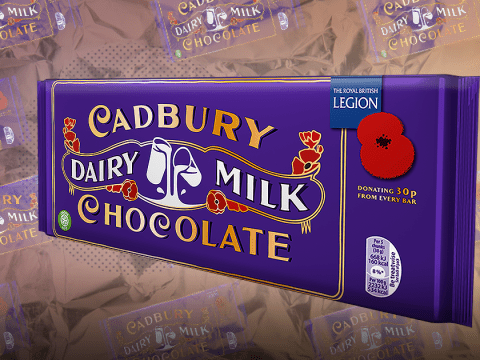 Cadbury launches Dairy Milk Remembrance Bar to commemorate World War I