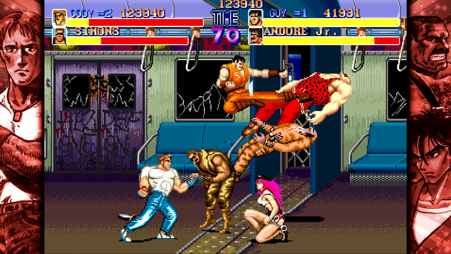 Final Fight (NS) - walk forward, punch people, repeat