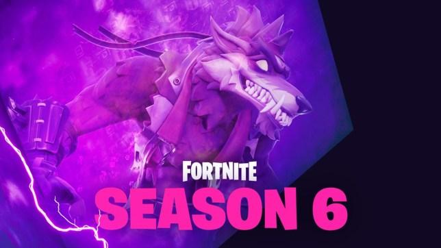 epic games season 6 of fortnite - fortnite season 6 cube
