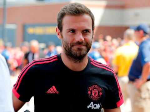 Juan Mata reacts to being left out of Manchester United squad again