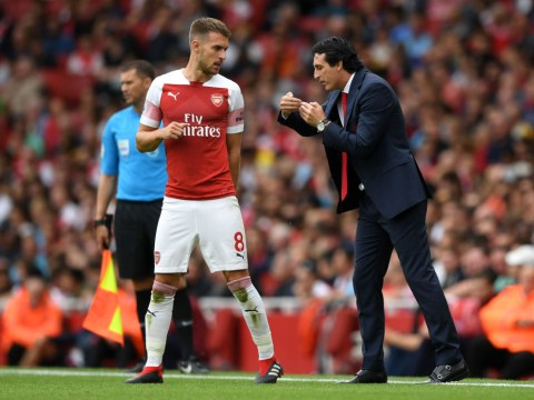 Aaron Ramsey highlights major difference between Arsene Wenger and Unai Emery