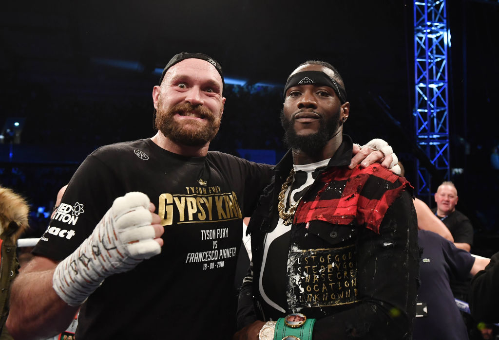 How much are Tyson Fury and De...