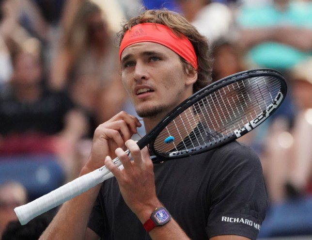 Us Open Alexander Zverev Reacts To Another Early Grand Slam Loss In