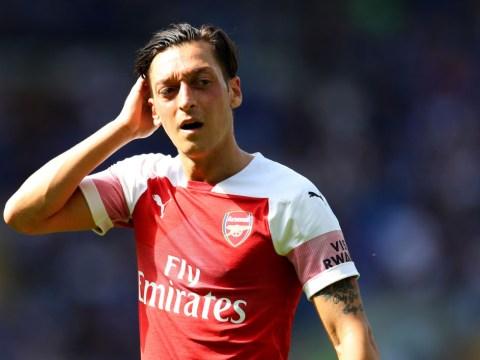 Mesut Ozil picks star-studded dream Arsenal and Real Madrid 5-a-side teams