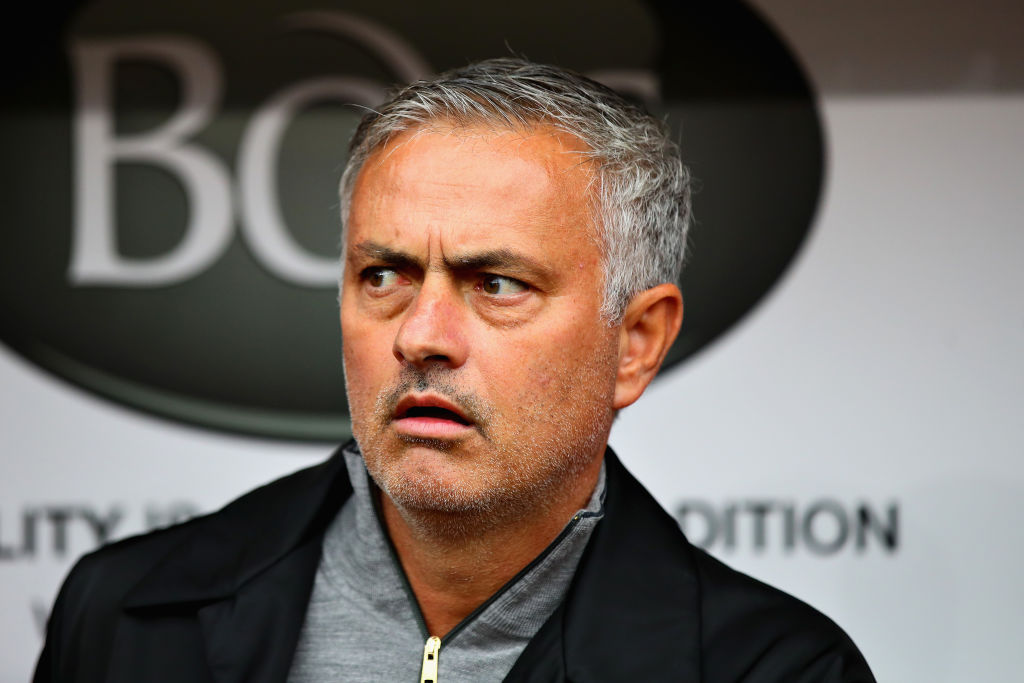 Official Stoke City account mocks Jose Mourinho's tactics with Manchester United