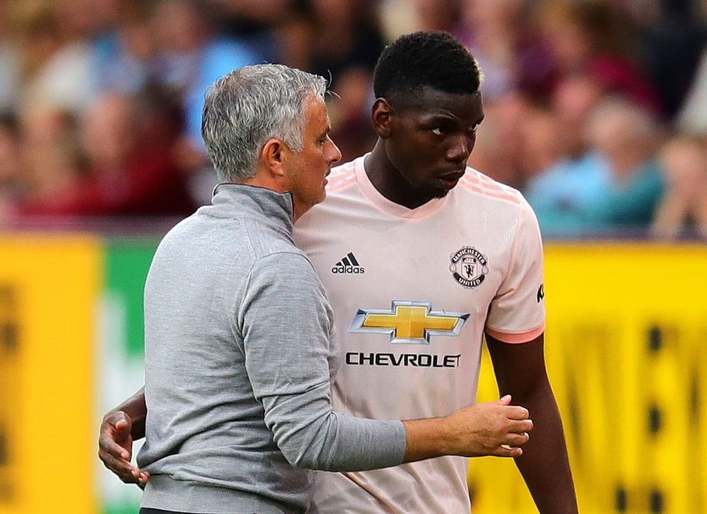 Jamie Carragher slams Paul Pogba over clash with Manchester United boss Jose Mourinho