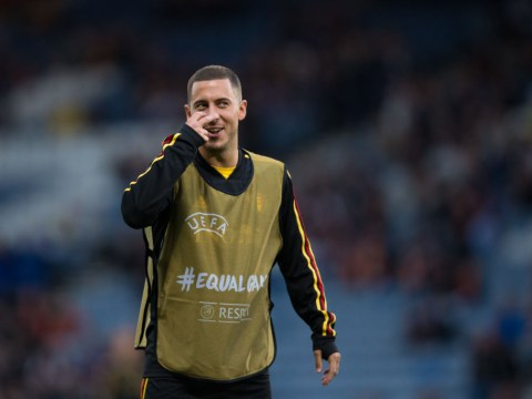 Eden Hazard scores incredible goal in Belgium's 4-0 rout of Scotland