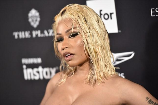 c031dd555f2 50 Cent sticks his beak in Nicki Minaj's ugly feud with shoe ...