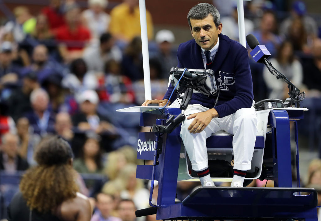 Serena Williams' coach launches attack on umpire after controversial US Open final