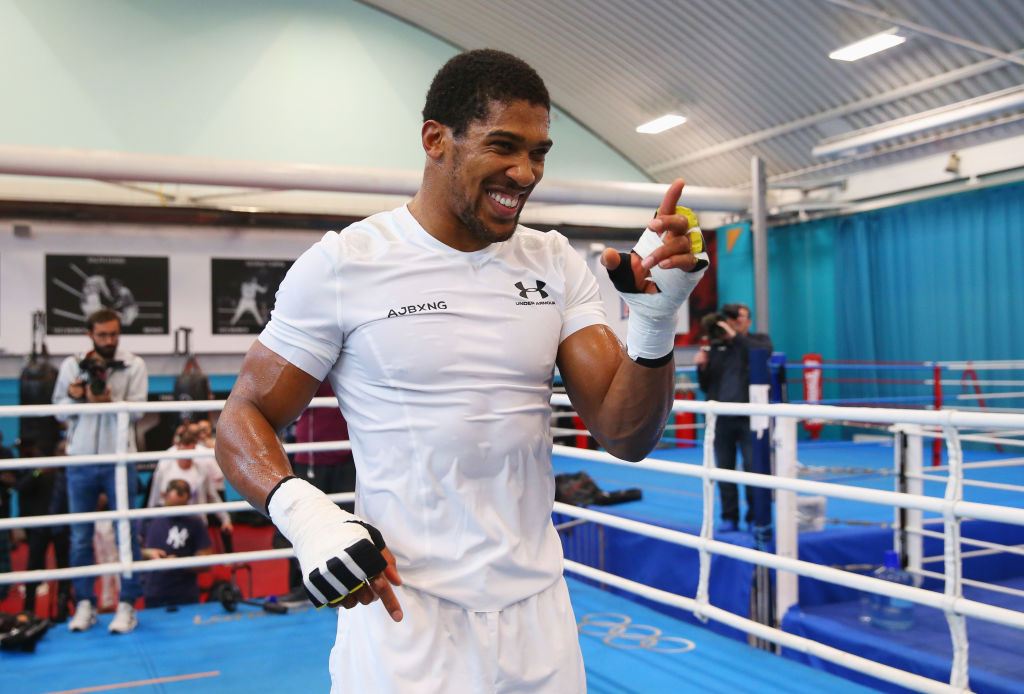 Anthony Joshua rubbishes Tyson Fury's claim he is lineal heavyweight champion