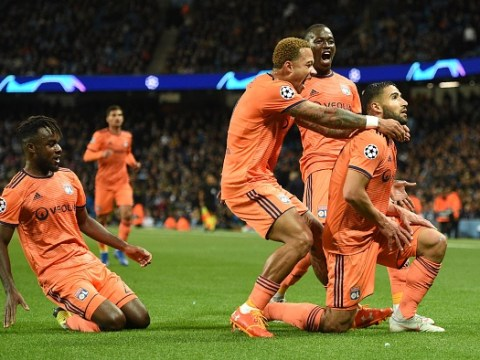 Former Man Utd stars Memphis Depay and Rafael troll Manchester City after shock Champions League defeat to Lyon