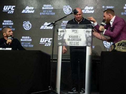 Video: Conor McGregor vs Khabib Nurmagomedov press conference in full