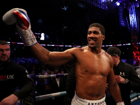 Anthony Joshua responds to Tyson Fury calling him a 's***house' after beating Alexander Povetkin