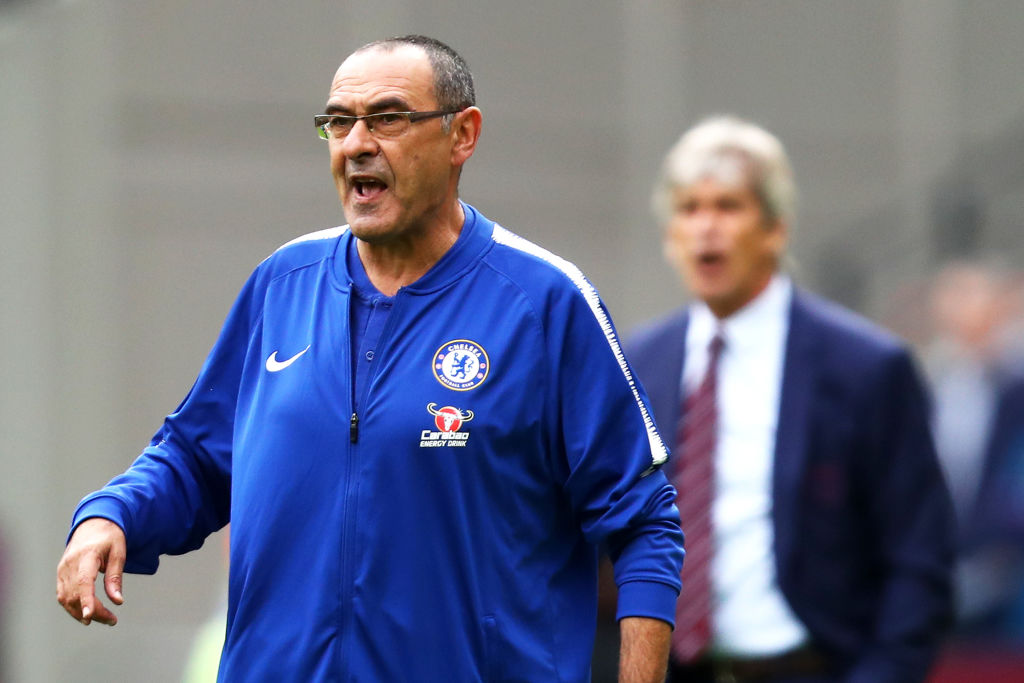 Maurizio Sarri claims Chelsea missed Pedro in draw with West Ham