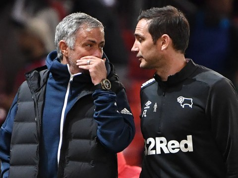 Frank Lampard reveals what Jose Mourinho told him after Derby beat Manchester United