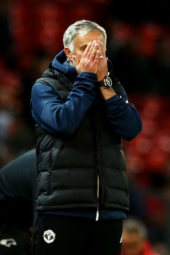 Jose Mourinho reveals details of failed half-time team talk during Carabao Cup exit