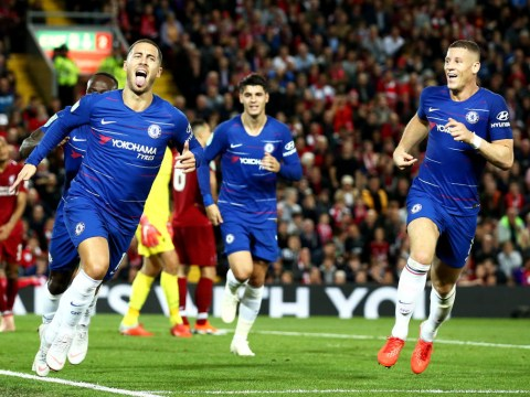 Ross Barkley 'not surprised' by Eden Hazard's wonder goal against Liverpool