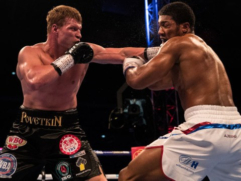 Anthony Joshua battled illness before knocking out Alexander Povetkin at Wembley
