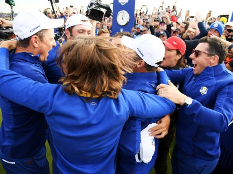 Europe regains the Ryder Cup with crushing win over USA