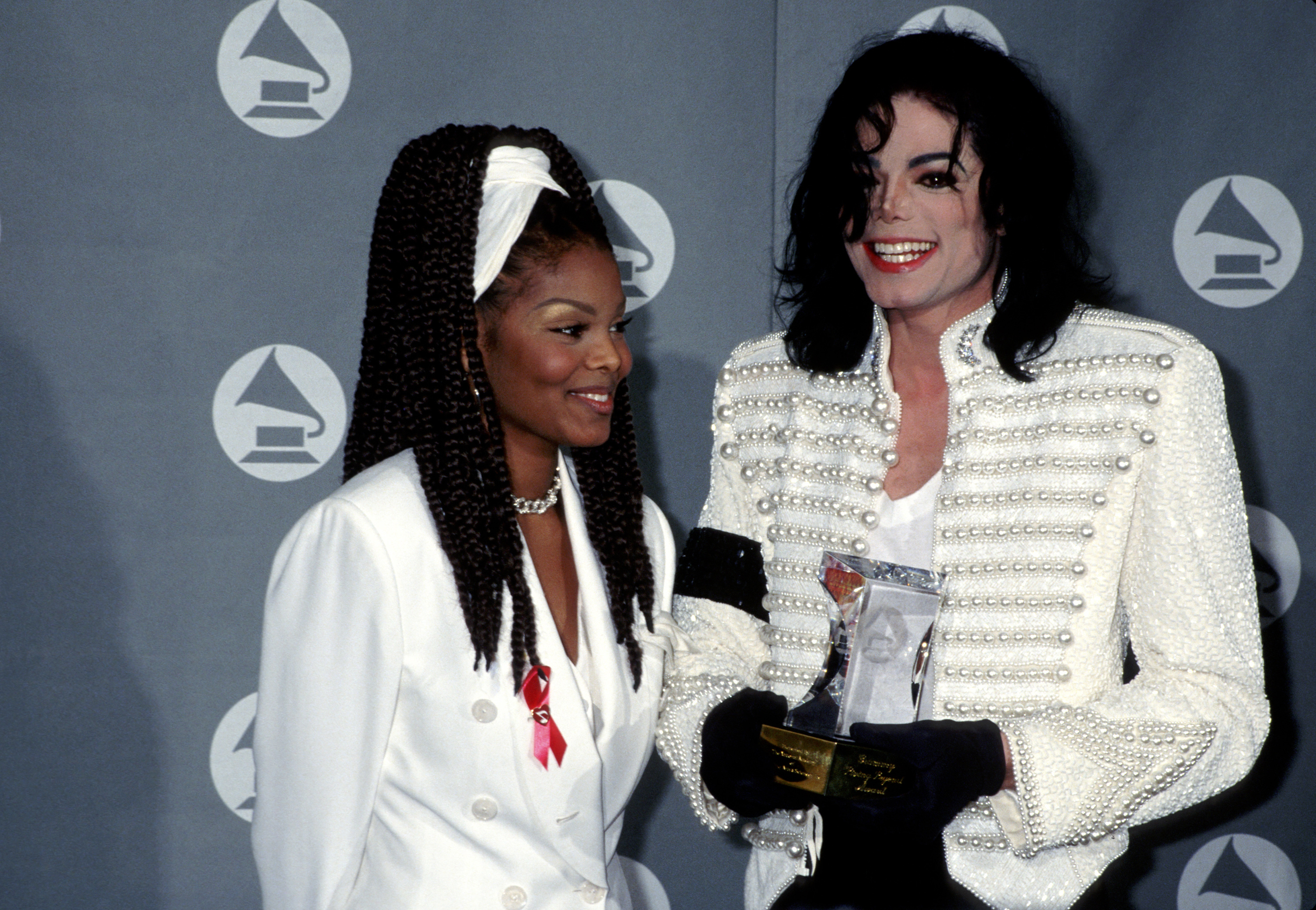 Janet Jackson first heard Michael Jackson's hit Thriller while sat in his car
