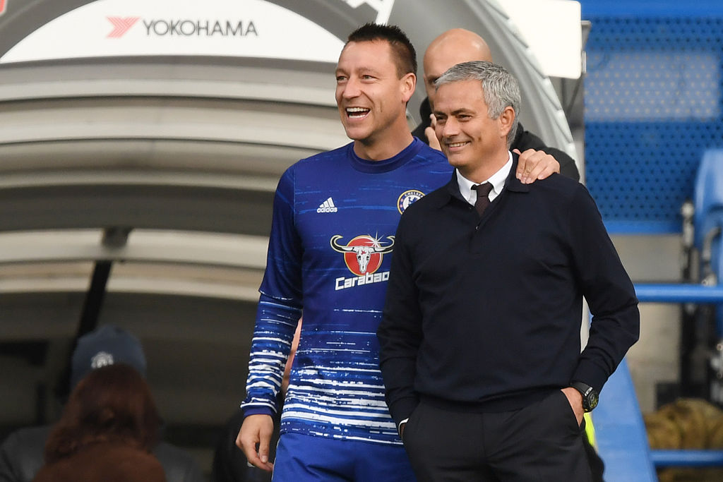 John Terry reveals how Jose Mourinho embarrassed him in front of Chelsea's players