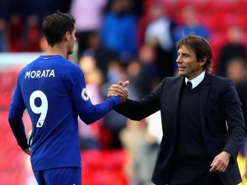 Alvaro Morata takes swipe at former Chelsea manager Antonio Conte