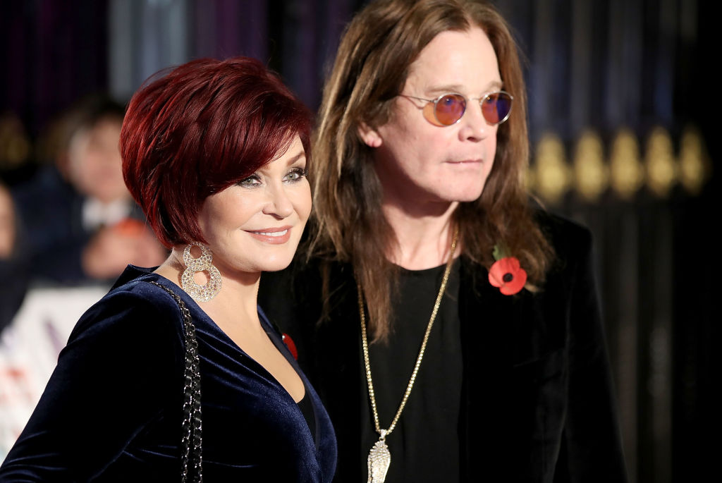 Sharon Osbourne admits she and Ozzy 'only have sex on special occasions' even though he's 'like a rabbit'