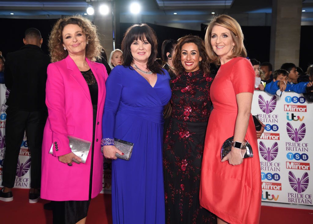 Nadia Sawalha says all the Loose Women are in touch with Coleen Nolan since she took a break from the show