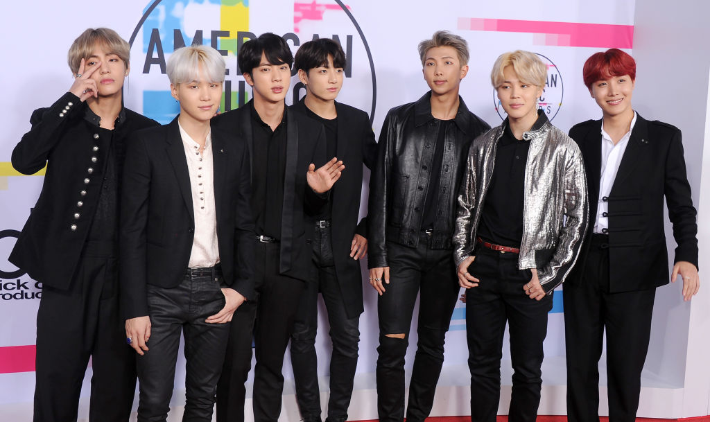 BTS to face off against Ariana Grande and Cardi B at the American Music Awards