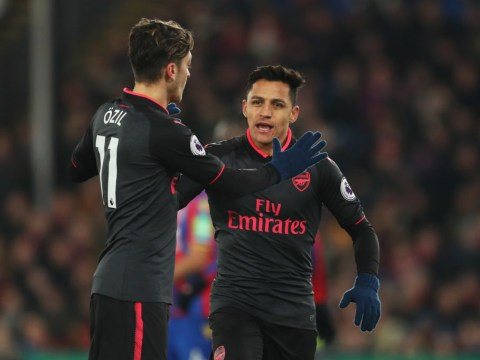 Alexis Sanchez will be missing his old Arsenal teammate Mesut Ozil, claims Paul Merson