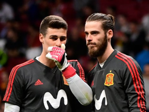 Kepa Arrizabalaga ready to challenge David de Gea in battle to be Spain's No.1