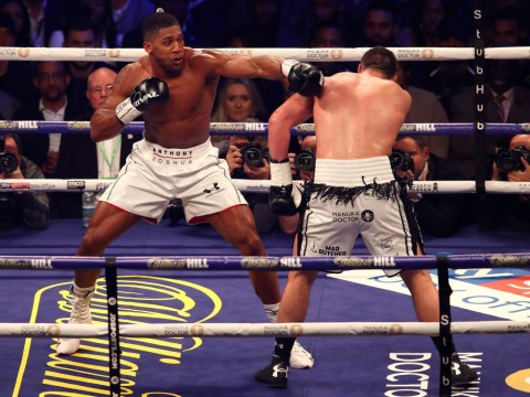 Anthony Joshua was 'cautious' against Joseph Parker because of potential Deontay Wilder fight