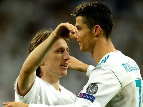 Luka Modric reveals Cristiano Ronaldo congratulated him after winning UEFA Player of the Year award