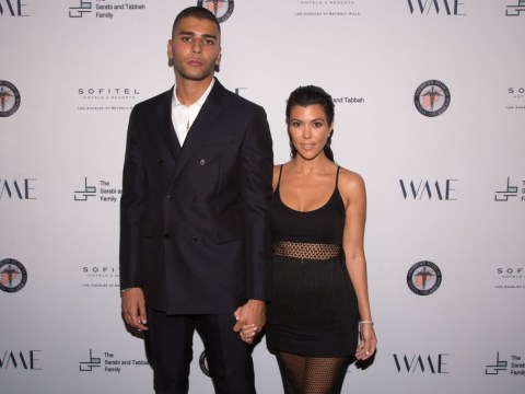 Kourtney Kardashian and ex-beau Younes Bendjima 'grab a burger and watch the sunset' in her car after split