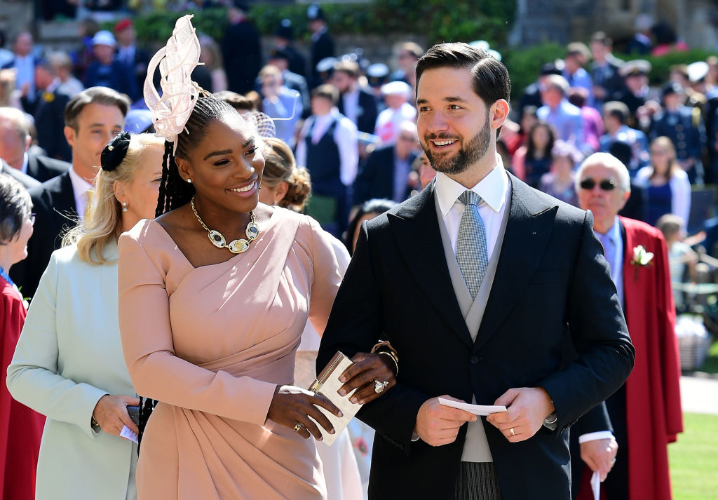 Serena Williams' husband pays tribute to 'my queen' as they mark one year anniversary