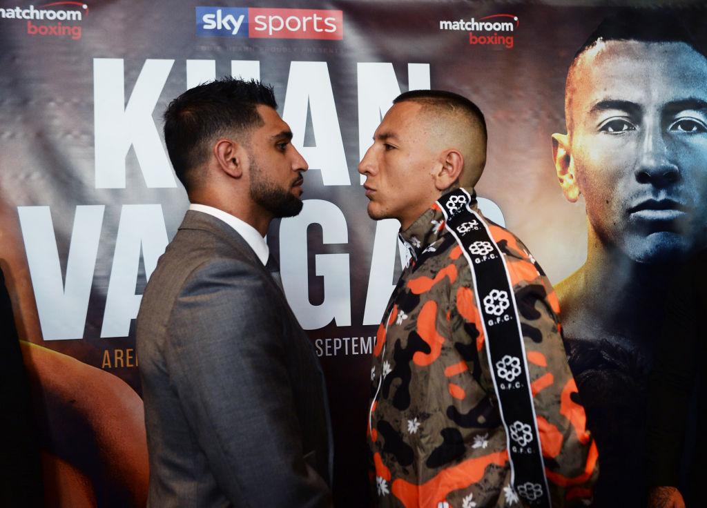 Amir Khan vs Samuel Vargas undercard, TV channel, live stream, times and odds