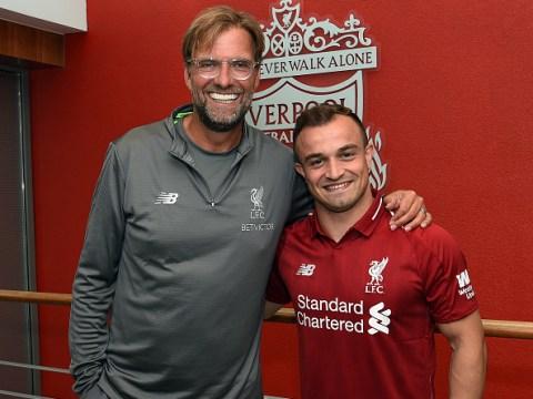 Jurgen Klopp reveals the 'mistake' he made with Liverpool summer signing Xherdan Shaqiri