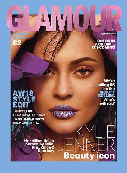 Glamour Kylie Jenner