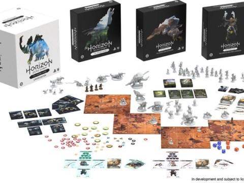 Horizon Zero Dawn board game launches on Kickstarter
