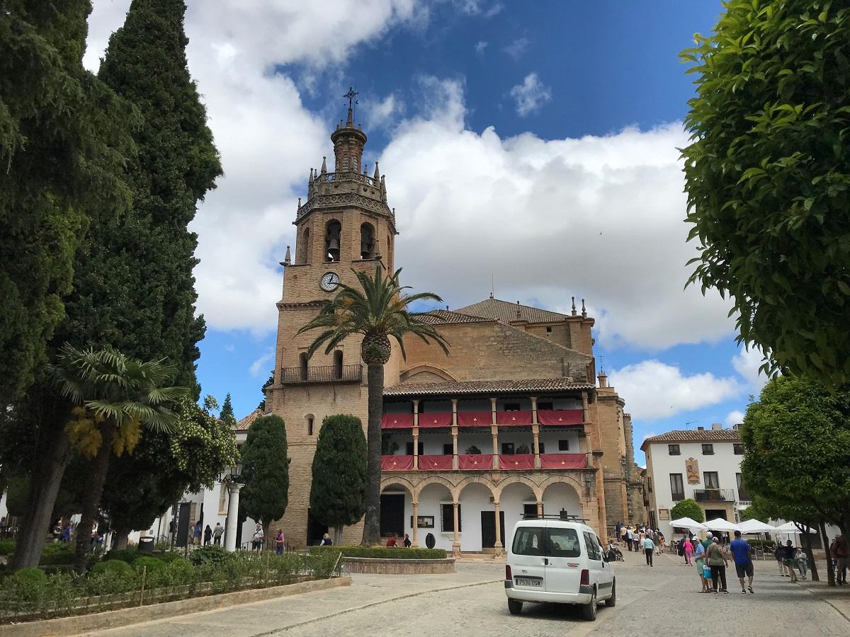 Iglesia de Santa Maria la Mayor (Picture: Martin G Hewitt)