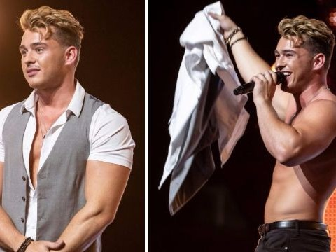 X Factor sees cringiest audition ever as hopeful tries to strip off for the audience and they snub him