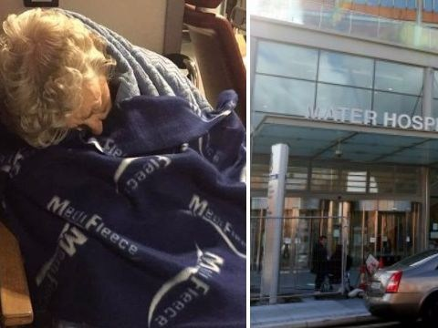 Woman, 92, left for 25 hours in hospital chair with painful kidney infection