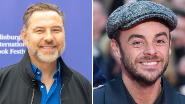 Ant McPartlin eases back into public life as he has a laugh with David Walliams