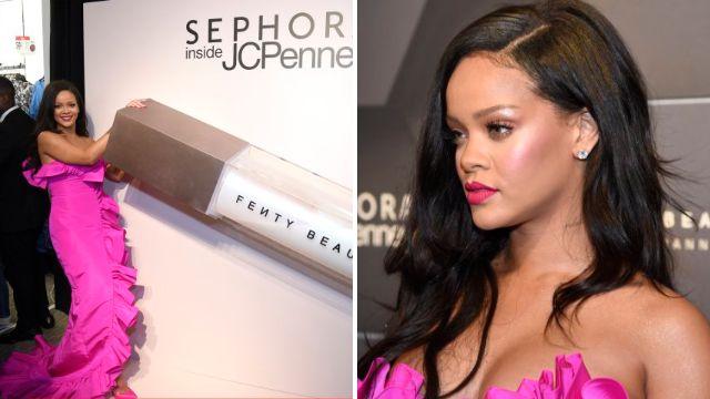 Rihanna celebrates global dominance with Fenty Beauty on the brand's first birthday