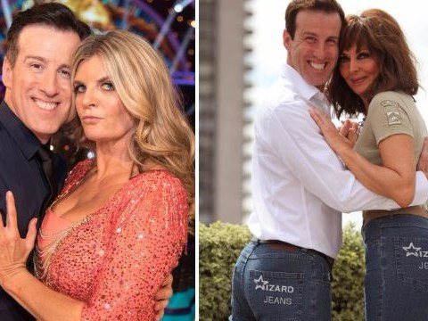 Strictly Come Dancing's Anton Du Beke doesn't want you to forget he won Rear of the Year once