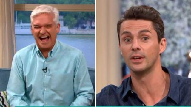 Phillip Schofield relentlessly squeezes new Downton Abbey movie details out of Matthew Goode
