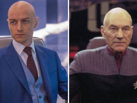 James McAvoy wants to play young Picard in new Star Trek series