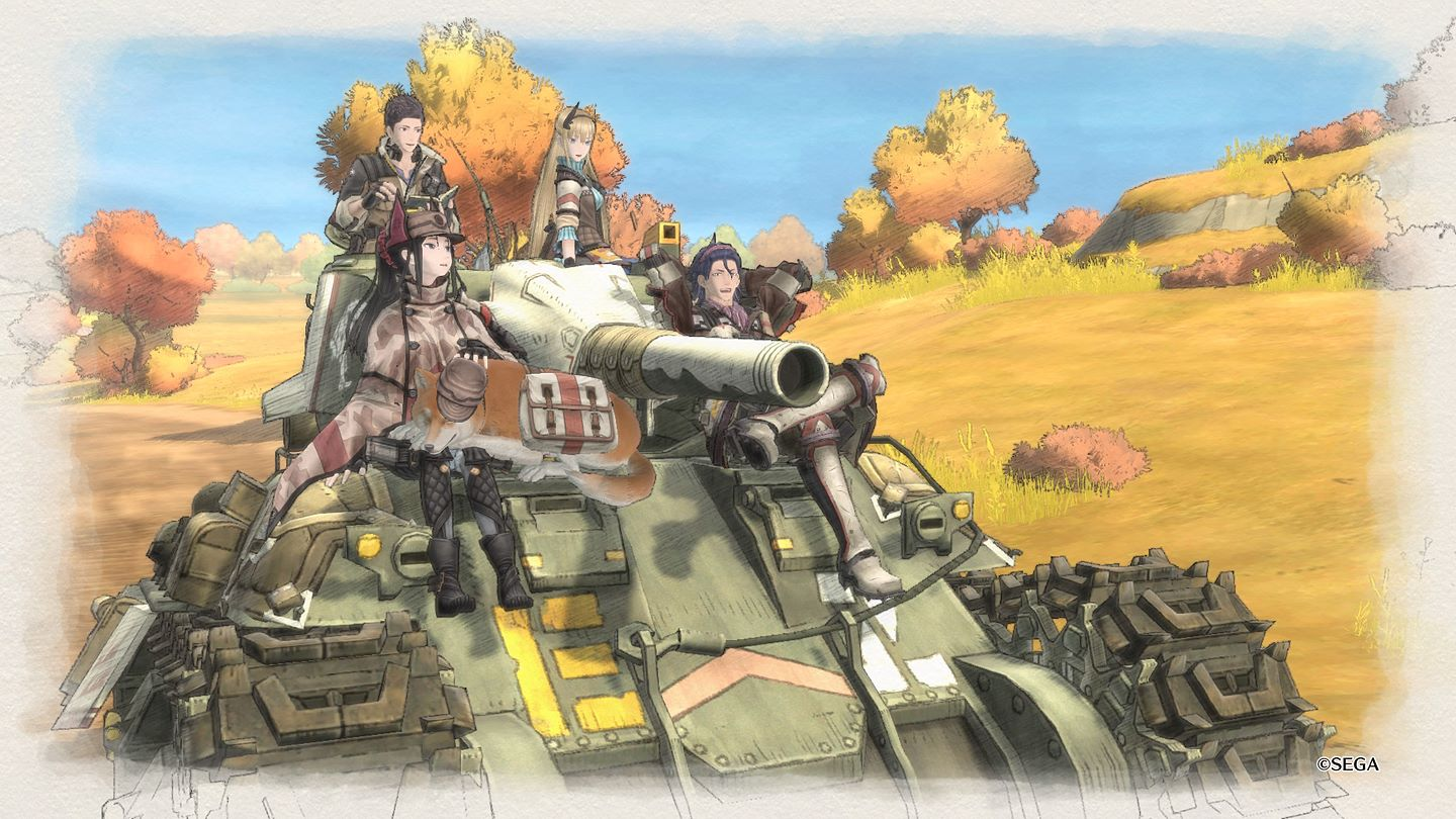 Valkyria Chronicles 4 (PS4) - war has never been so... pretty?
