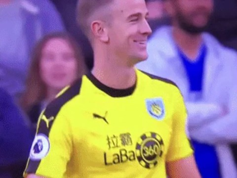 Joe Hart responds as Cardiff fans sing 'England's number 4' against Burnley