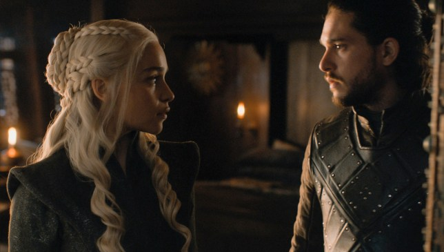 Jon Snow and Danaerys Targaryen